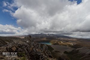 Lower Tama Lake und Ruapehu