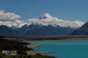 Mount Cook mit See