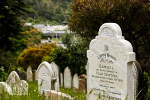 Stillgelegter Friedhof in Wellington